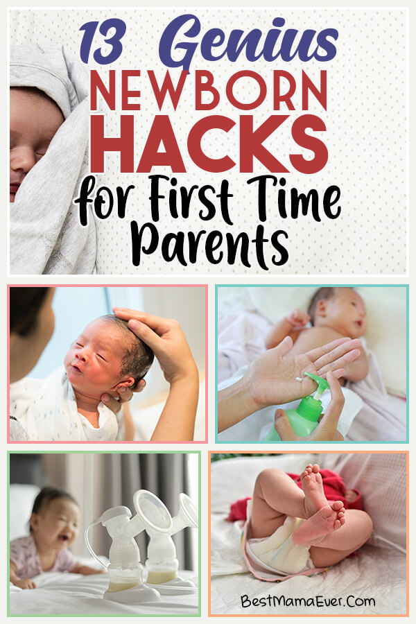 13 Genius Newborn Hacks for First Time Parents
