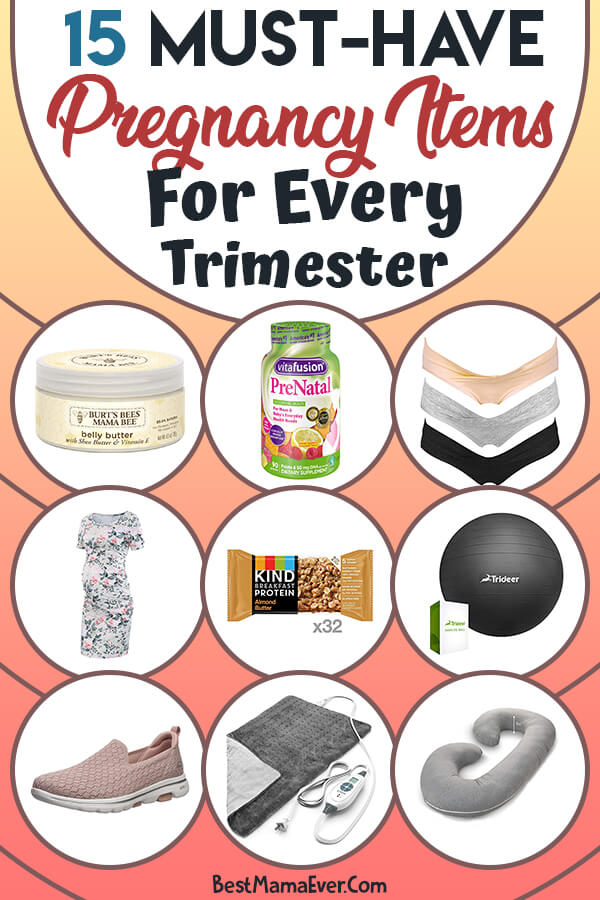 15 Must-Have Pregnancy Items for Every Trimester